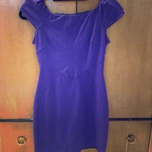 Beautiful purple DVF dress SZ 4